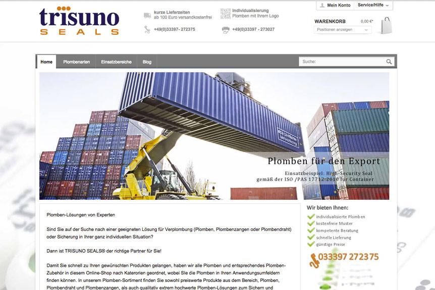 Trisuno-Seals-Seite